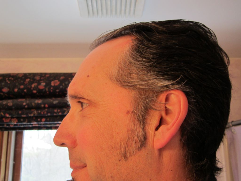 Winning the war on sideburns and maybe, self-help.