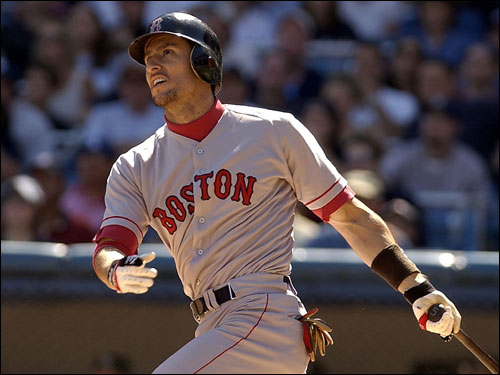 Boston's fickle sports fanned eventually soured on Nomar Garciaparra.