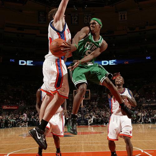Rajon Rondo; the new bane of Boston's sports dolts.