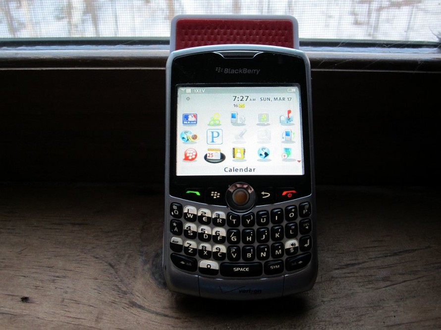 I'm gonna miss my BlackBerry.