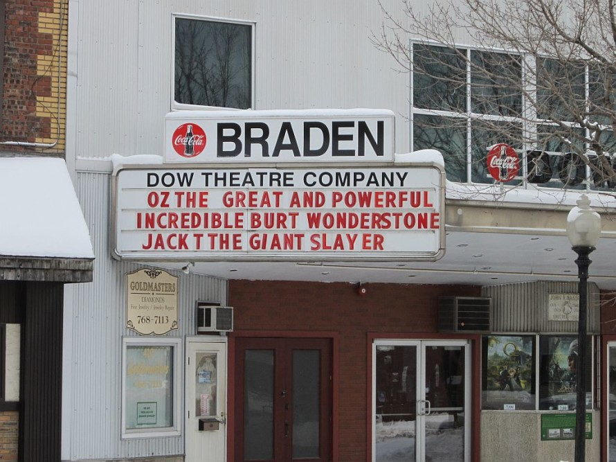 The Braden Theater, Preque Isle, ME
