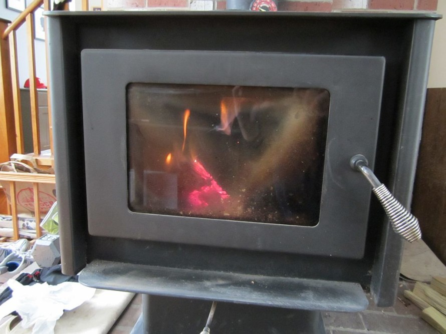Nothing beats the heat from a good wood fire.