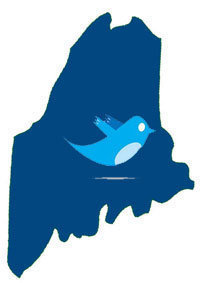Logo for the Maine Tweetup
