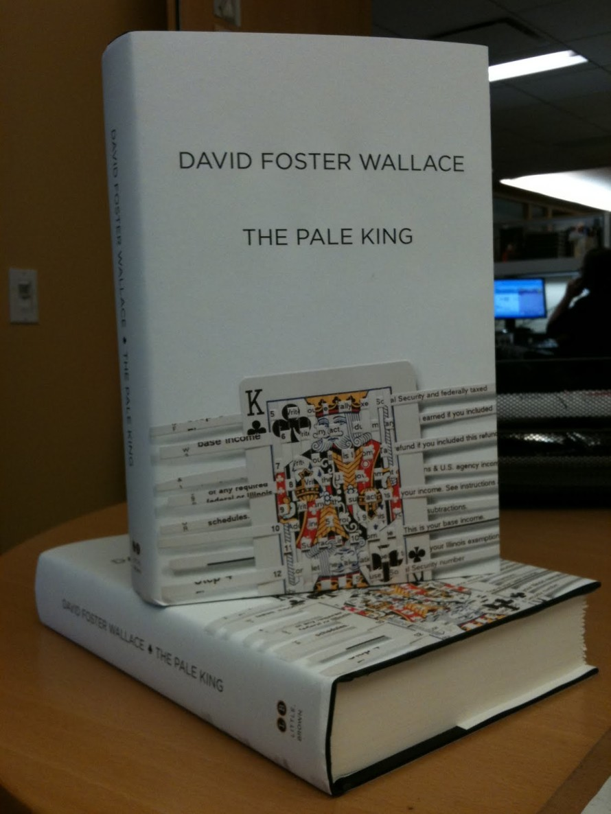 "David Foster Wallace's final book, ""The Pale King."""