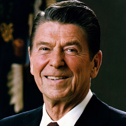 Ronald Reagan: America's 40th president.