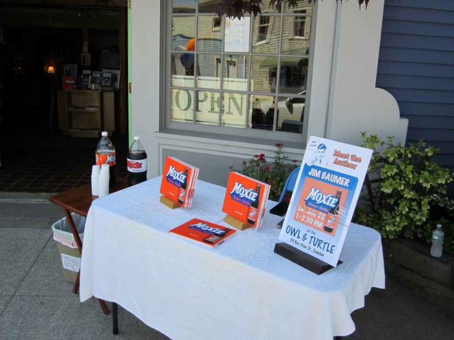 Another Moxie book signing.