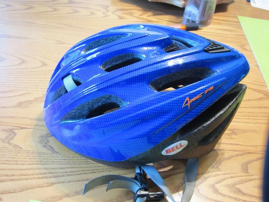If you bike, wear a helmet.