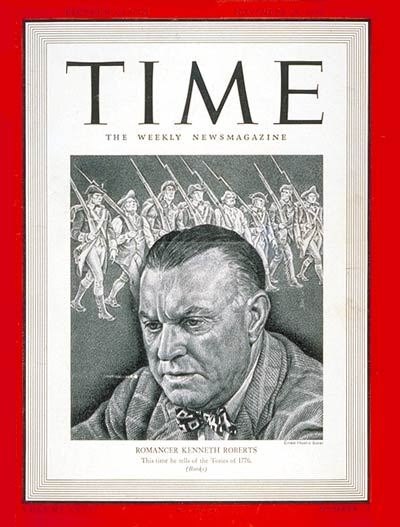 Roberts was the subject of a Time Magazine cover, March 25, 1940.