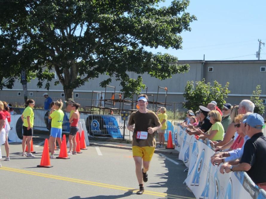Mark finish run