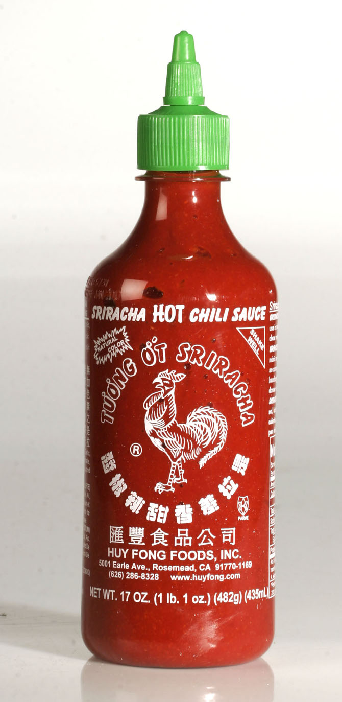 "Just one word for you; ""Sriracha."""