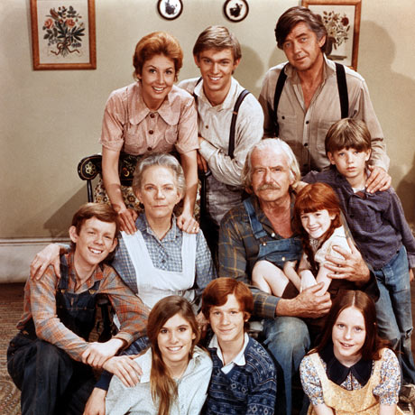 Looking back with The Waltons, on Hallmark.