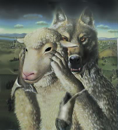 Beware of wolves in sheep's clothing.