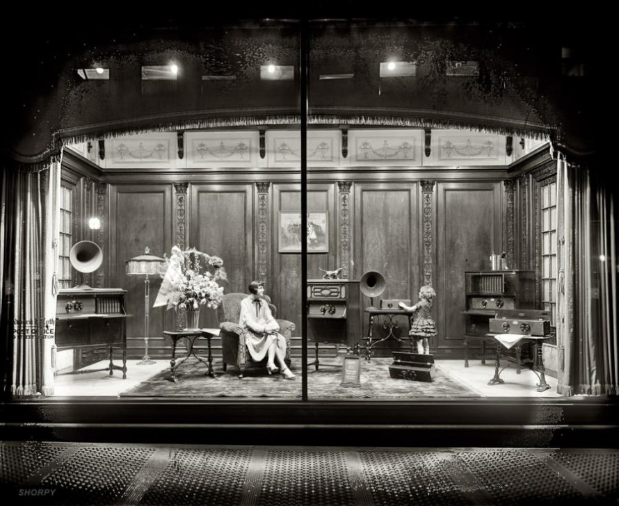 Retailers used to rely on window dressing to lure customers into their stores.