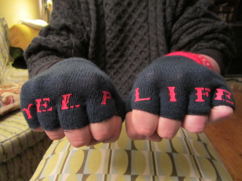 Yelp keeps your hands warm.