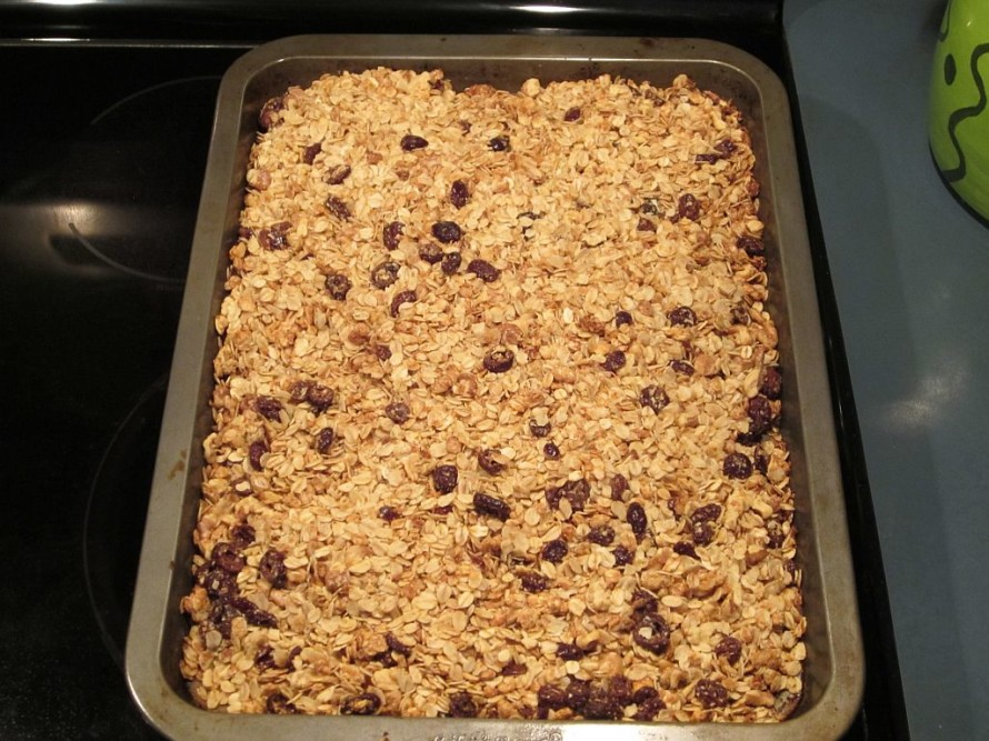 Another batch of the JBE's granola.