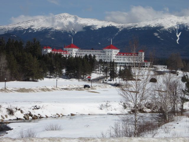 The Mount Washington Hotel and Resort-Bretton Woods, New Hampshire