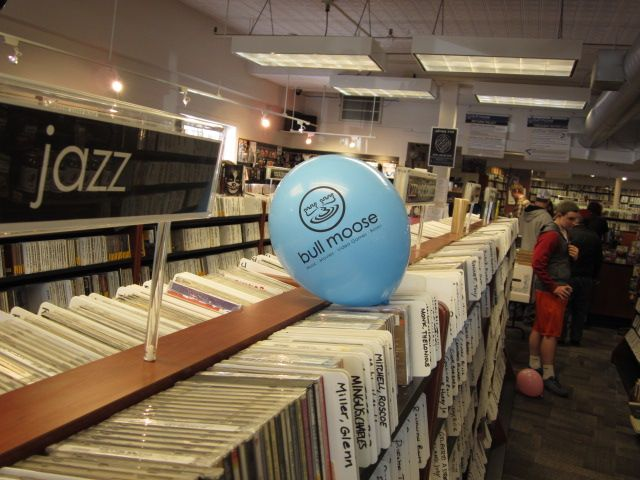 A few balloons and a lot more vinyl.