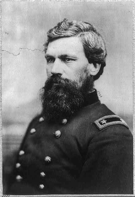 [Oliver Otis Howard, 1830-1909, bust portrait, facing left; i...