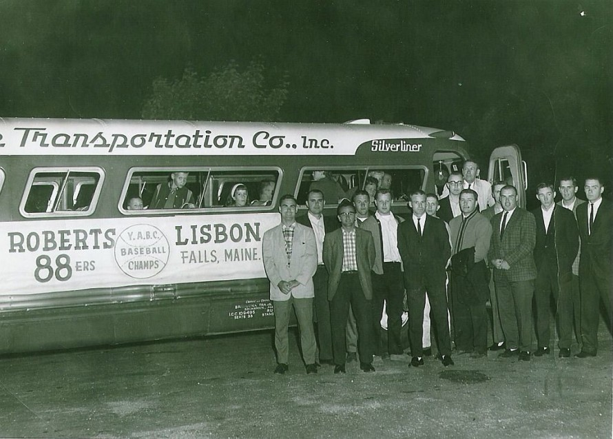 The Roberts 88'ers off to the YABC Regional Tournament in Waterbury, CT, circa 1964.