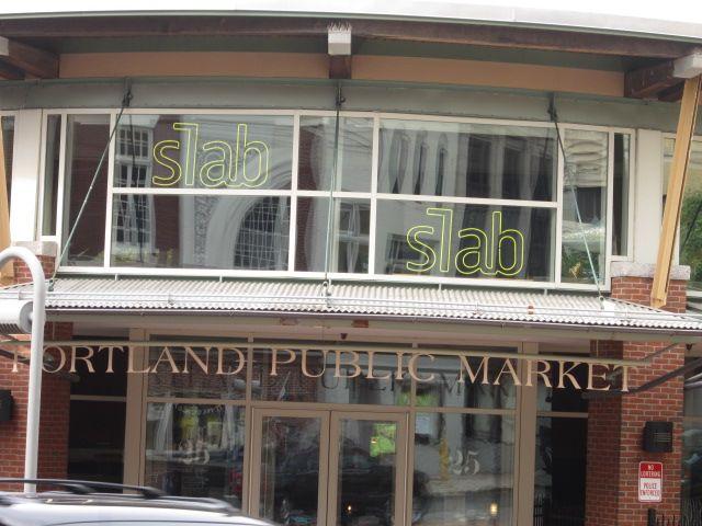 Slab is located in the Portland Public Market on Preble Street.