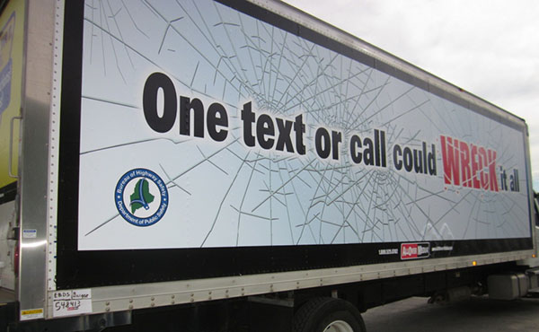 Truck drivers in Maine are helping to spread the word that distracted driving can be deadly.
