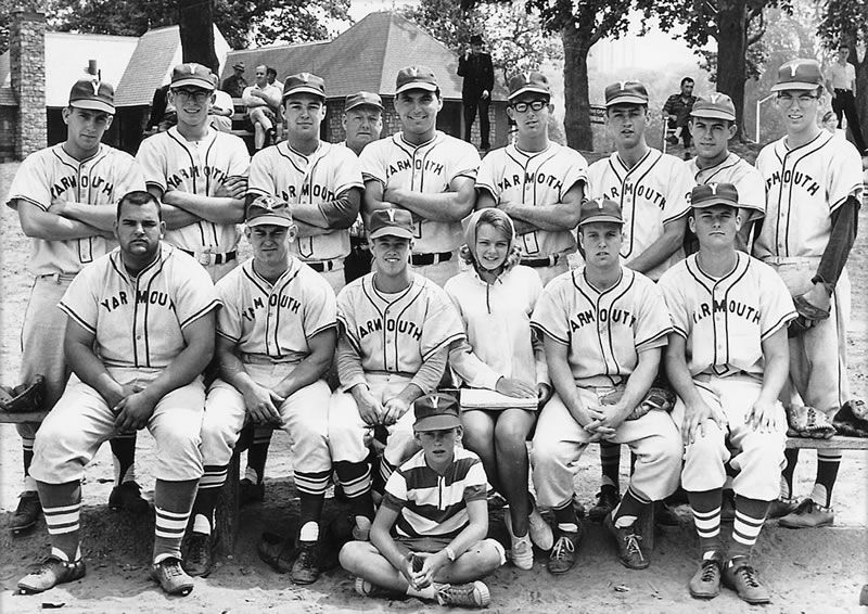 "Cover photo from ""When Towns Had Teams""; the Yarmouth Townies."