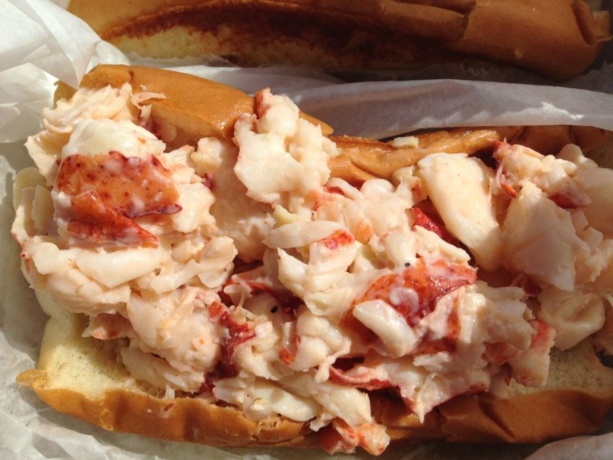 Erica's Seafood--the best lobster roll in Maine? Quite possibly.