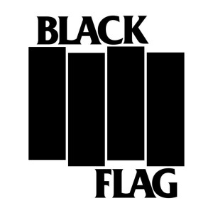 Iconic Pettibone logo for the punk band, Black Flag.