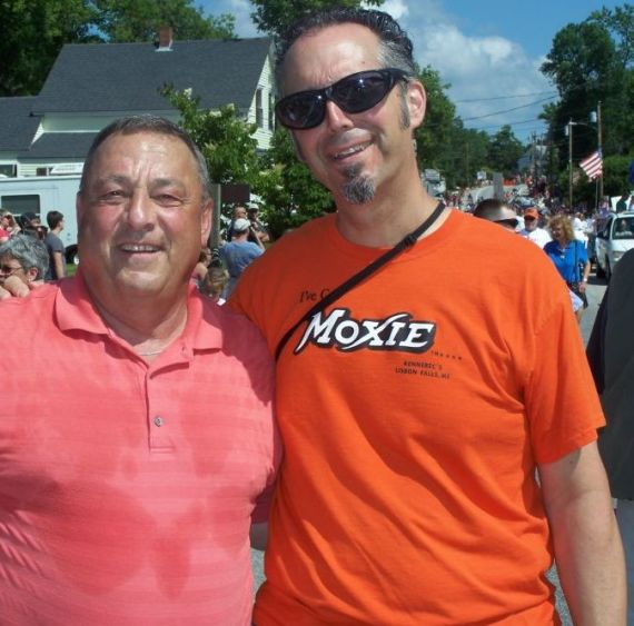 The governor and me getting our Moxie on.