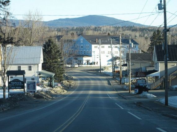 One of Maine's outlying communities that's not Falmouth.