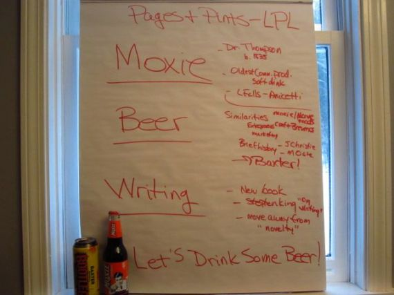 Pages & Pints Outline