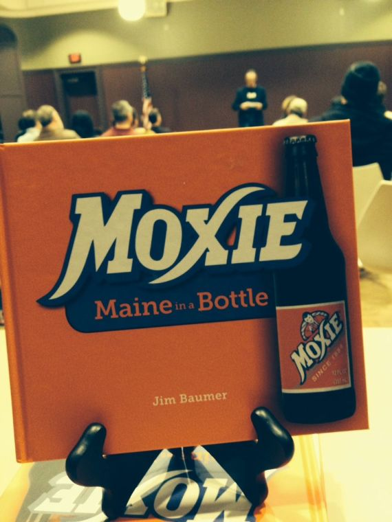 Back of the room with Moxie.