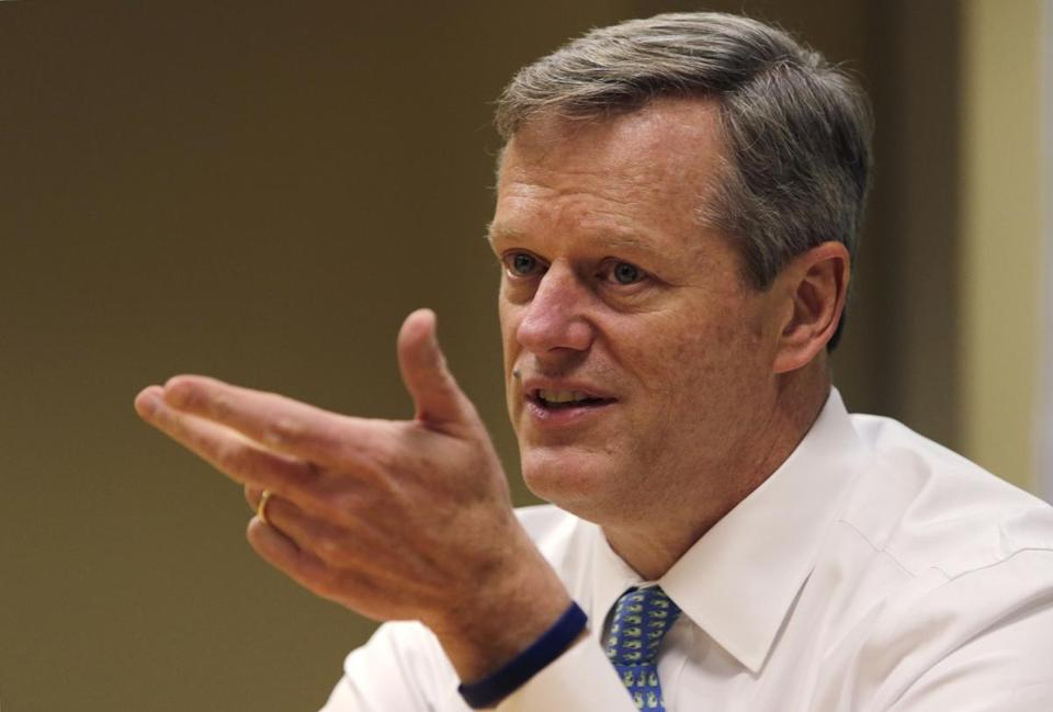 Poor Charlie Baker; his term is off to a rough start.