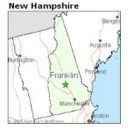 Franklin on the map