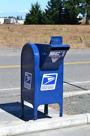 Drop a letter in the mailbox.
