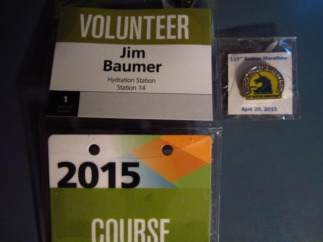Volunteer credentials.