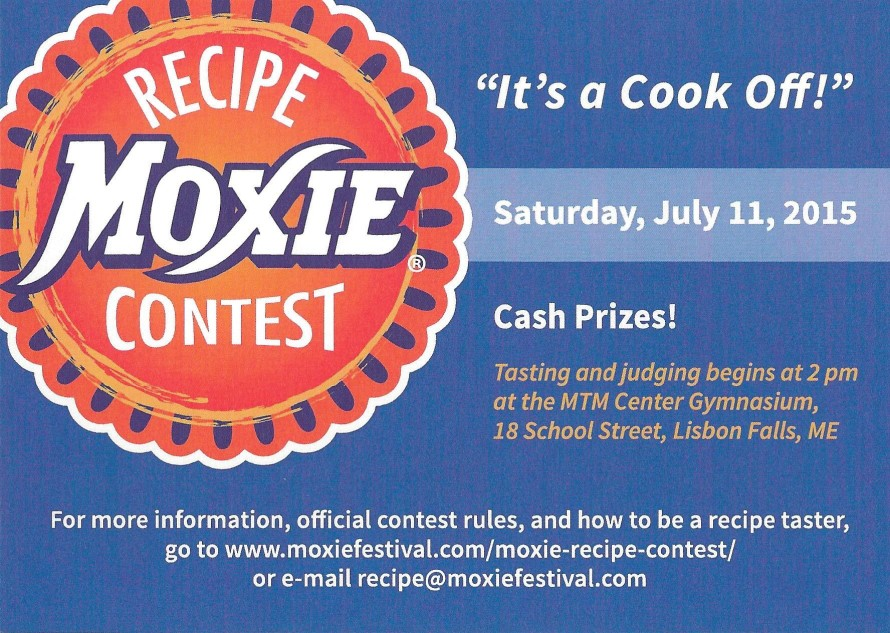Get your Moxie on at the Moxie Recipe Contest.