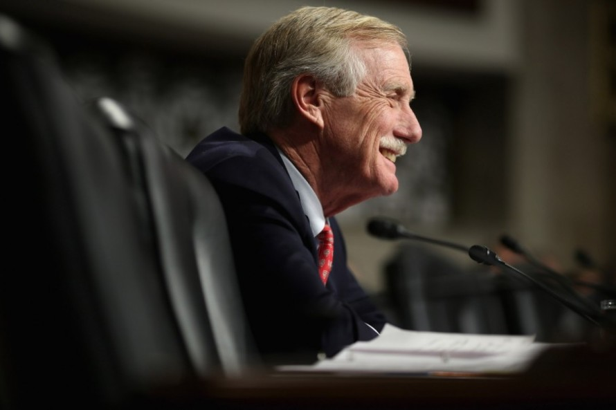 Angus King--not as independent as you think.