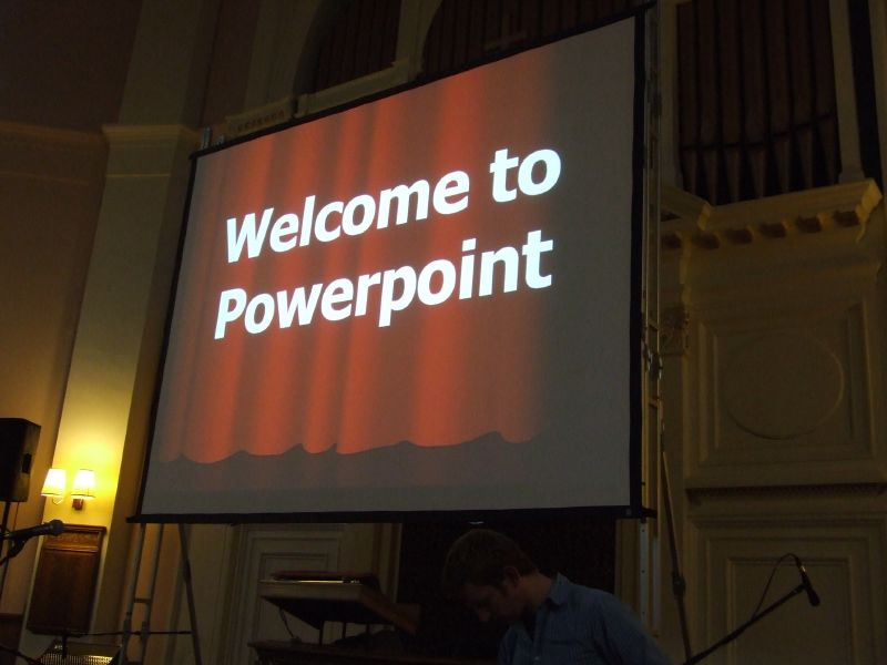 PowerPoint corrupts, and absolute PowerPoint corrupts, absolutely.
