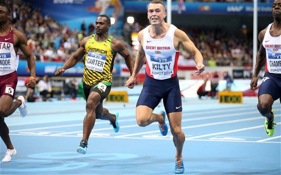 When your work feels like sprinting. (Brit, Richard Kilty)