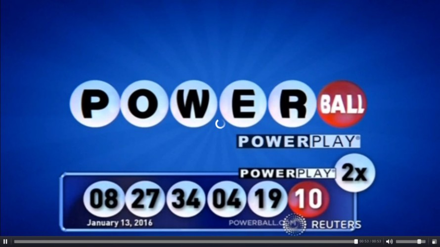 These weren't your Powerball numbers.