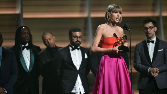 The unbearable whiteness that is Taylor Swift. (Photo: Robert Hanashiro/USA Today)