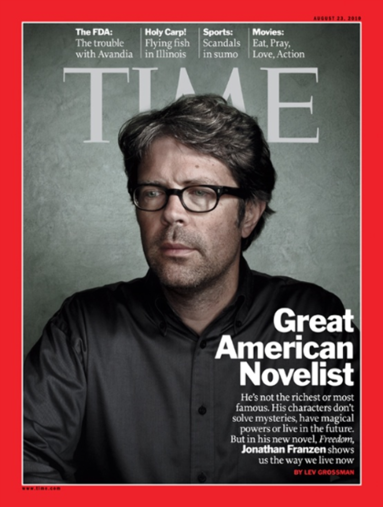 Making the cover of Time Magazine.