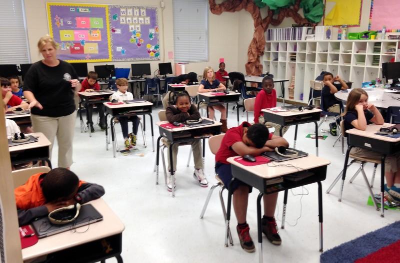 Socio-economics affects educational attainment.