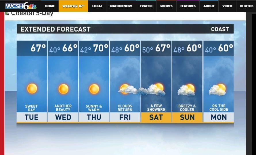 Today's forecast-sunny!!