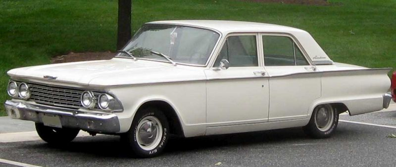 My earliest driving lessons were in a 1962 Ford Fairlaine.