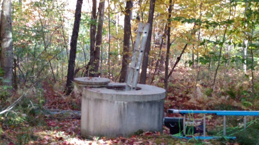 Dug wells are ubiquitous in Maine.